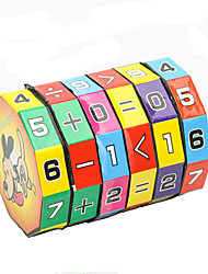 Height Puzzle Cube Children Education Learning Math Toy for Children 6-layer 7.2cm