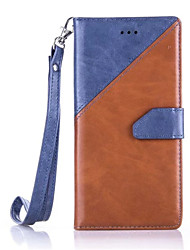 For Huawei Case / P9 / P9 Lite Wallet / Card Holder / with Stand Case Full Body Case Solid Color Hard PU Leather HuaweiHuawei P9 / Huawei