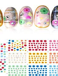 Nail Sticker Nail Art Bouts  pour ongles entiers / Autocollants de transfert de l'eau / Bijoux pour ongles
