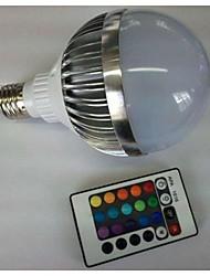 10W E26/E27 Lampadine globo LED G80 1 LED ad alta intesità 700-900 lm Colori primari Controllo a distanza AC 85-265 V 1 pezzo