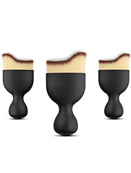 1 PCS Contour Foundation Brush S Shape Cream Makeup Brushes Loose Powder Brush Multifunctional Make Up Brushes