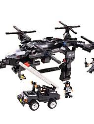 Building Blocks For Gift  Building Blocks Model & Building Toy Fighter Plastic Above 6 Blue Toys