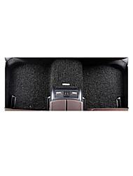 tapetes de carro fio pufes laço flexibilidade de tempo, durável desgaste à prova de água