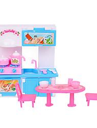 кухня реквизита Бабьем отношение ба куклы играть дома моделирования кухонных принадлежностей кухня