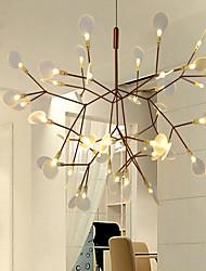 Lustre ,  Contemporain Traditionnel/Classique Retro Rétro Rustique Laiton Fonctionnalité for Cristal LED Style mini Designers PVCSalle de