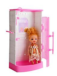 giocattoli gioco da spiaggia per bambini bambola accessori, giocattoli da bagno regalo di compleanno (senza bambino)