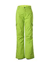 Gsou Schnee Mode gelb Frauen Skihose / Frauendameatmungs abgrifffest windproof Hose