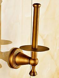 Porte Papier Toilette / Laiton Antique / Fixation Murale /4.3*3.15*7.9 inch /Laiton /Antique /11cm 8cm 0.4