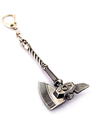 The World Of Warcraft Zinc Alloys Sword/Axe Keychain Jewelry(Wow)