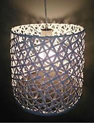 12W Lampe suspendue ,  Lanterne Autres Fonctionnalité for Style mini Bois/Bambou Salle de séjour / Salle à manger