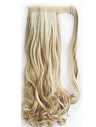Excellent Quality Synthetic 18 inch Long Curly Clip In Ponytail Hairpiece