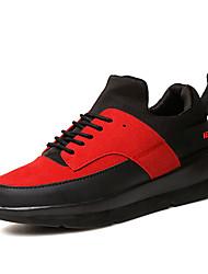 Homme-Décontracté-Noir / Rouge / Noir et blanc-Talon Plat-Styles / Bout Arrondi-Sneakers / Sabots & Mules-Tulle