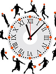 Large Stickers Creative Clock