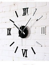 Factory Supplies Creative DIY Wall Clock Acrylic Wall Clock