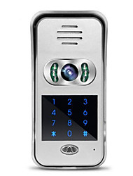 WiFi, Video Intercom Doorbell Villa Scheme Mobile Phone APP Remote Unlocking Monitoring Video Camera Home