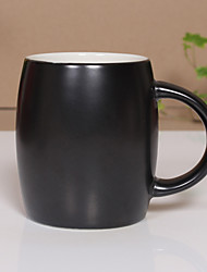 1Pc 500Ml Ceramic Cup Authentic Creative Mark Cup Tea  Glass Coffee Cup Random Color