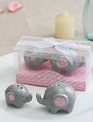 Ceramica Bomboniere Pratiche-2 Utensili da cucina Favola / Rustico Tema Rosa 6*4*4CM Nastri