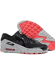 Sapatos Corrida Feminino Preto / Roxo Couro Envernizado / Tule / Tecido