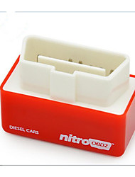 NitroOBD2 Dynamic Optimization OBD Box To Enhance The Power Of Diesel Powered Plug And Play