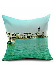 2016 New Arrival  Cotton Linen Pillow Cover Nature Modern Contemporary  Pillow Linen Cushion D494