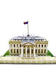 America White House Wholesale Jigsaw world architecture 3d puzzle