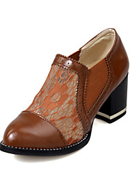 Women's Shoes Customized Materials Spring / Summer / Fall Heels Heels Party & Evening / Dress / Casual Chunky Heel