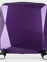 Unisexe PVC Extérieur Bagages Rose / Violet / Rouge / Noir