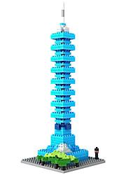 Pour cadeau Blocs de Construction Plastique Tous Bleu Jouets