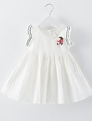 A children's clothing wholesale on behalf of 2016 summer new Korean girls dress baby princess skirt cotton fly