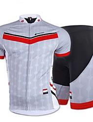 nuckily мужские велосипедные вершины / низ короткий рукав велосипед весна / лето / осень дышащий / стрейч / пот-затекания