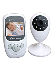 "2.4"" Digital Video Baby Monitor with Night Vision Camera, Temperature Monitoring, Talk to Baby Two-way Intercom and Zoom"