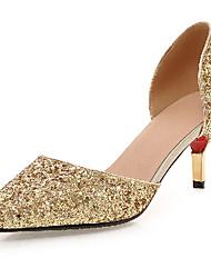 Women's Shoes / Fall Heels Heels Outdoor / Office & Career / Casual Stiletto Heel Sequin / Sparkling Glitter&9-26