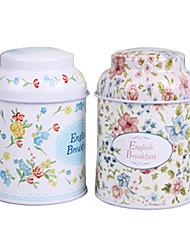 étain boîte / boîte de thé contenant la maison fournissant quotidiennement