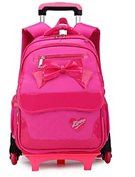 Women Oxford Cloth Formal Backpack Purple / Red / Fuchsia