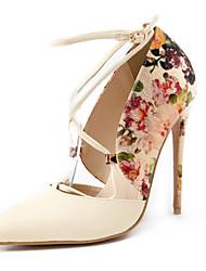 женская обувь весна / лето / осень пятки / пальца ноги пятки заостренный партия&вечер / платье / вскользь шпильках пятки пряжки
