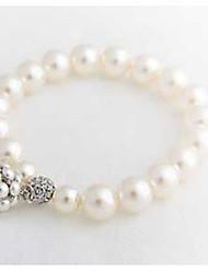 Women White Fashion Strand Bracelet