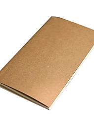 Kraft Paper Travel Notebook (Random Color)