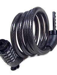 ZHONGLI Fixed Gear Bike Bike Locks ABS / Steel / PVC / Copper Durable  Black