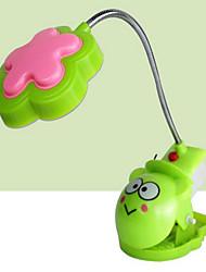 de color clip rrandom llevó la lámpara recargable