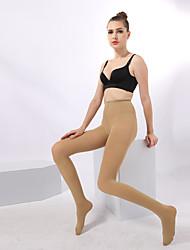 BONAS® Femme Couleur unie Moyen Legging-7258