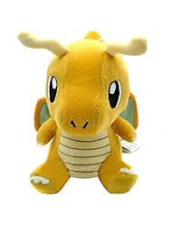 Pokemon Model Dragonite Soft Plush Stuffed Doll Toy