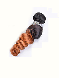1 Piece Loose Wave Human Hair Weaves Brazilian Texture 100 8-26 Human Hair Extensions