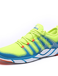 Homme-Décontracté-Jaune / Rouge / Gris / Corail / Vert clair-Talon Plat-Bout Arrondi-Sneakers-Tulle