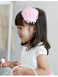 Girls Hair Accessories,Summer / Winter / All Seasons Chiffon / Others Pink / Purple / Red / White