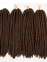 (1-12packs)Synthetic Dread Locks Hair Extensions Dreadlocks Weave