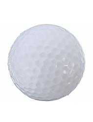 luz llevada hasta las pelotas de golf, campo de gleamy elástica