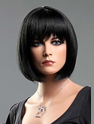 Black Straight Fashion Woman's Short BOB Wig