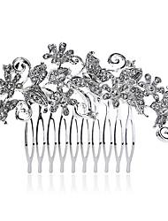 Fashion Graceful Rhinestone Bufferfly Hairbrush