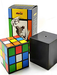 / Smooth Speed Cube 3*3*3 / Magic Prop Rainbow Plastic