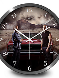 Classic Movie Creative Bedroom Quiet Quartz Wall Clock